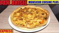 pate-brisee-recette-monsieur-cuisine-edition-plus-lidl-silvercrest-skmk-1200-thermomix