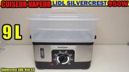 cuiseur-vapeur-lidl-silvercrest-sdg-950-test-avis-notice