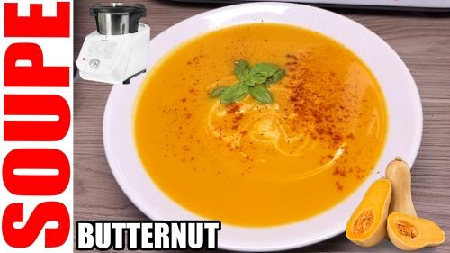 soupe de butternut monsieur cuisine