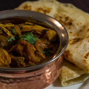 Curry d'Agneau aux Jacques