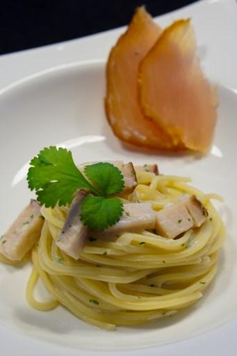 Spaghetti au Marlin Fumé