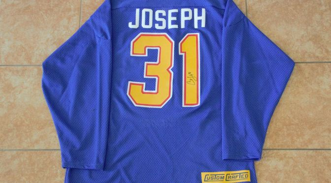 1990's St. Louis Blues Jersey – Skills Competition – Curtis Joseph
