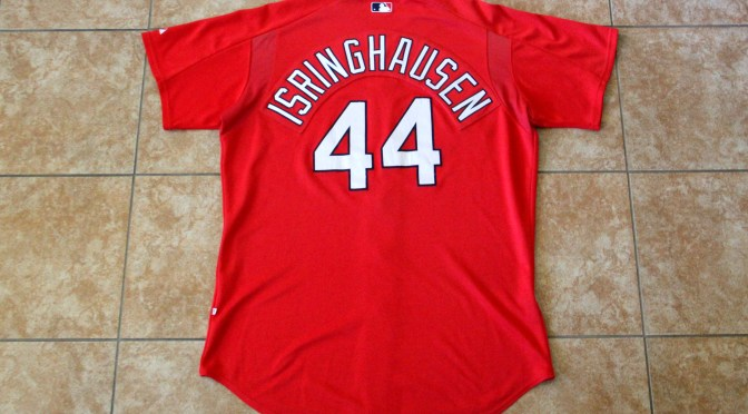 2000's St. Louis Cardinals Batting Practice Jersey – Jason Isringhausen