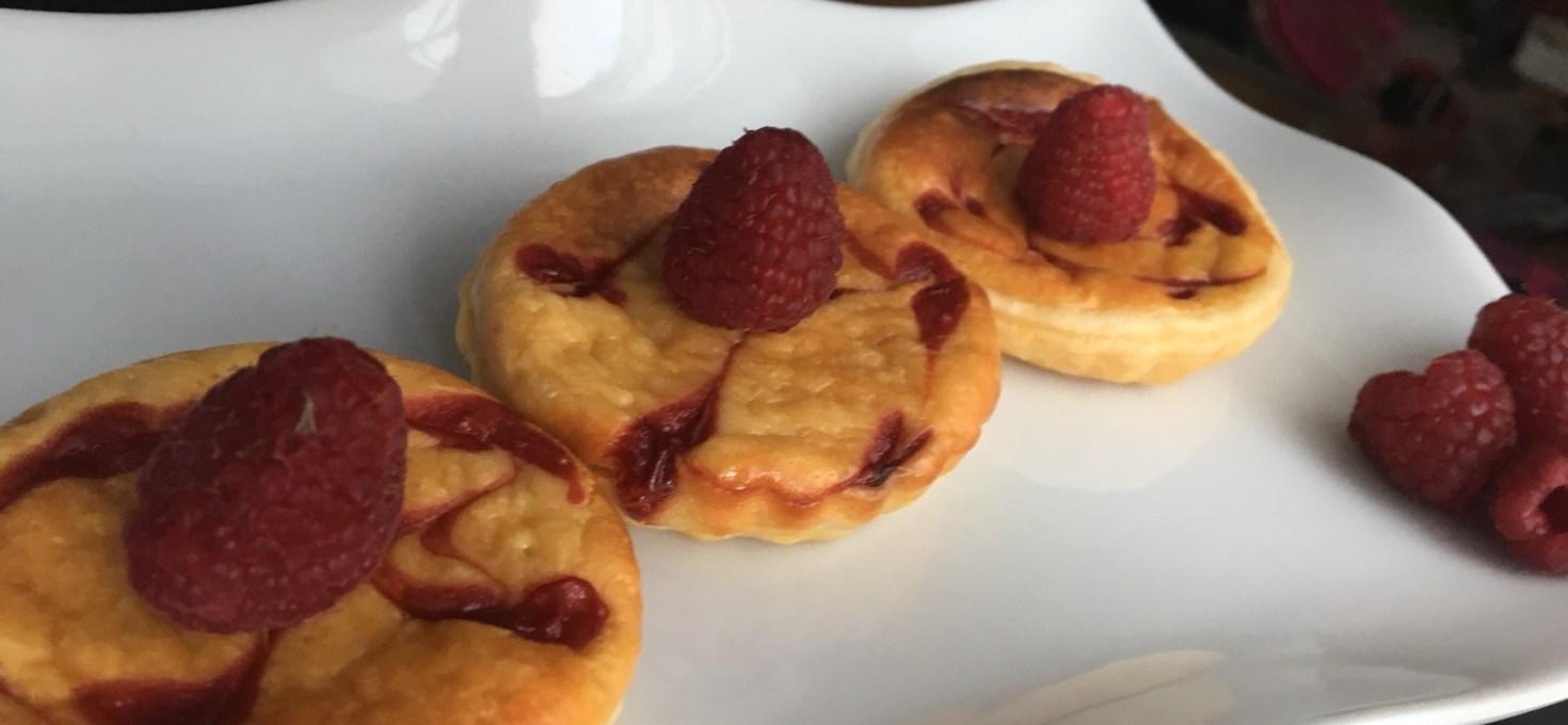Tartelettes façon cheesecake
