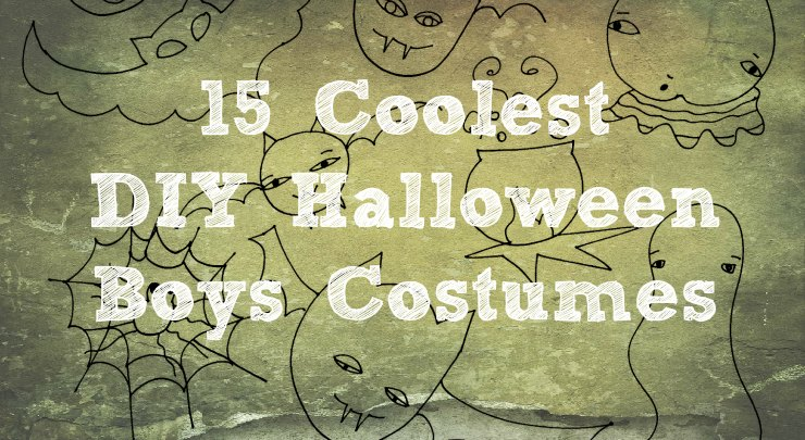 15 Coolest DIY Halloween Boys Costumes