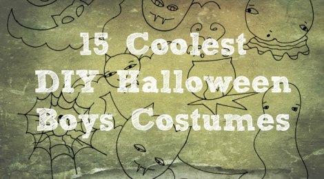 15 Coolest DIY Halloween Boys Costumes