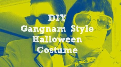 DIY Gangnam Style Halloween Costume