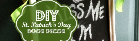 DIY St. Patrick's Day Door Decor