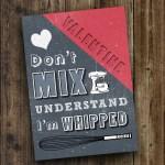 DIY Printable Valentine 'Don't Mix Understand'