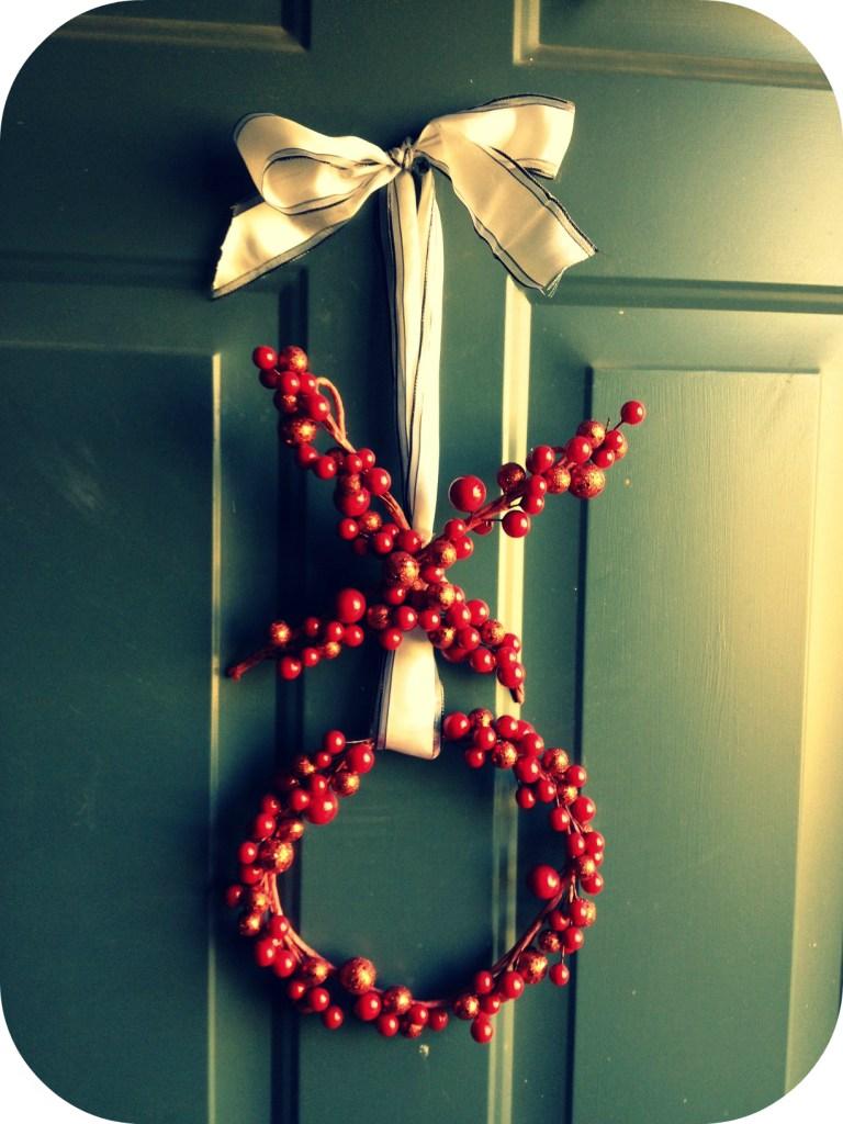 xo wreath