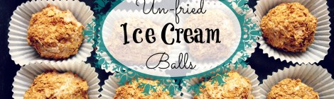 Un-fried Ice Cream Balls