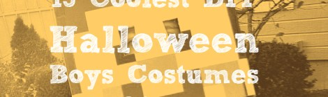15 Coolest DIY Halloween Boys Costumes - Part 2