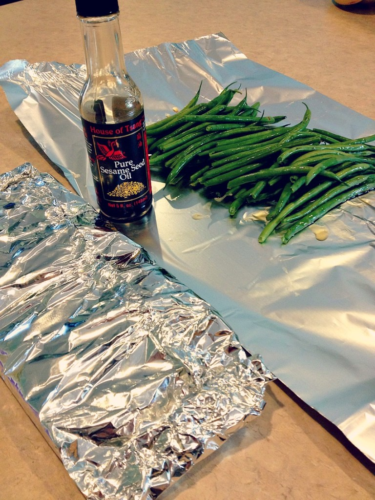 sesame green beans 2