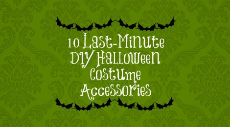 10 Last-Minute DIY Halloween Costume Accessories