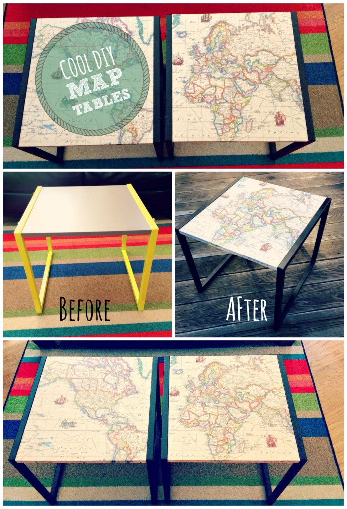 map table Collage