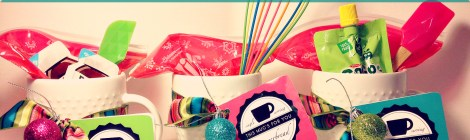 3 DIY Holiday Mug Cake Gifts with Printable Recipe Tags
