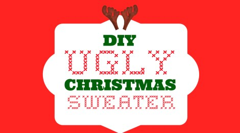 DIY Ugly Christmas Sweater…It's so Ugly, It's Cute!