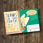 "DIY Printable Tooth Fairy Thank You Card from the Children's Book ""My Tooth is Loose!"" by Becca Wilkinson"