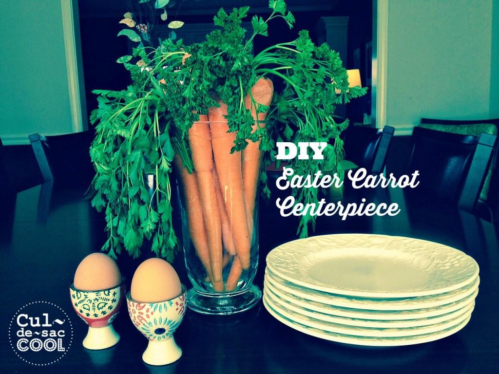 DIY Easter Carrot Centerpiece 5