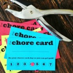 DIY Printable Kid's Chore Punch Card