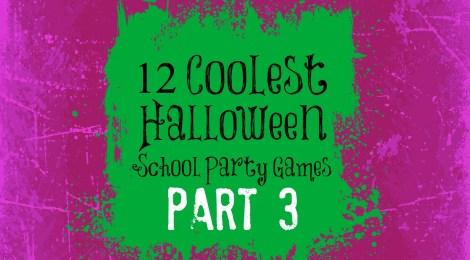 12 Coolest Halloween School Party Games -- Part 3