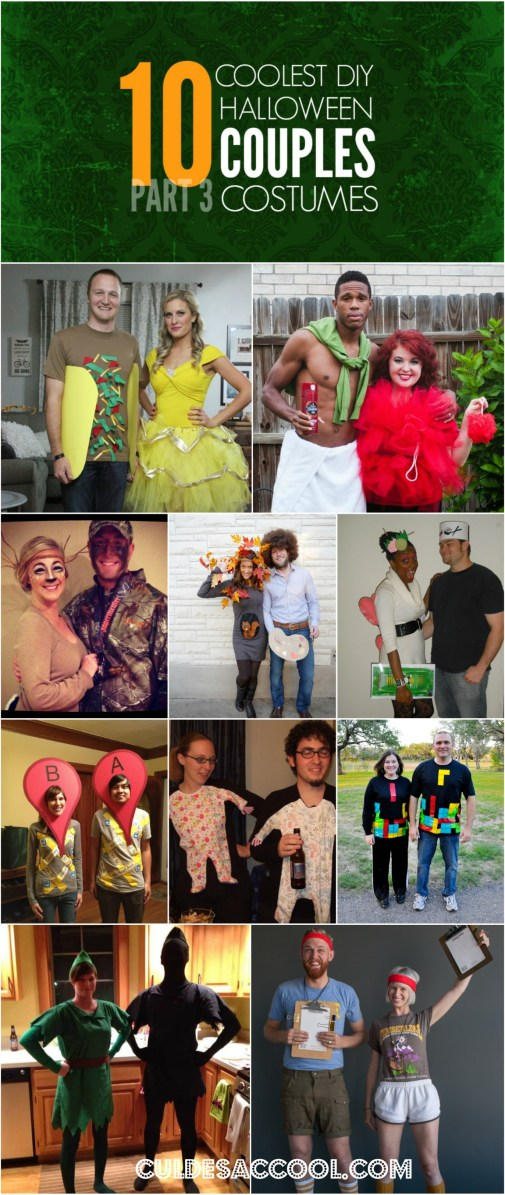 HALLOWEEN COUPLES COSTUMES PART 3 COLLAGE
