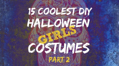15 Coolest DIY Halloween Girls Costumes -- Part 2