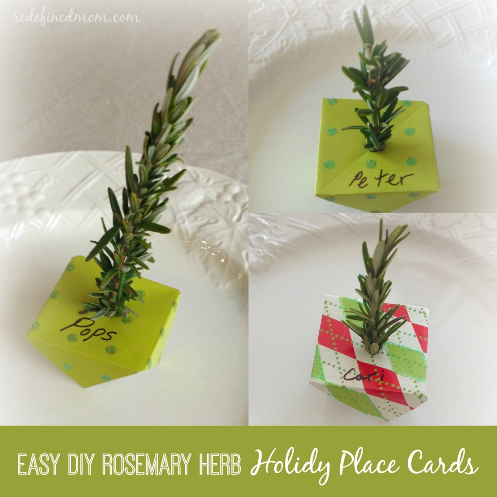 Holiday Place Cards Collage 2