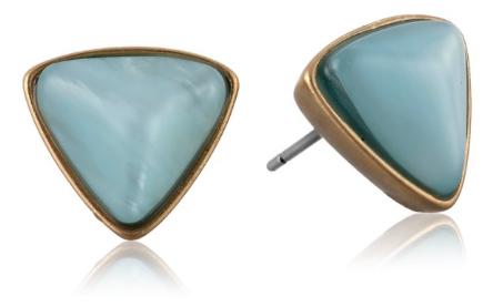 Kenneth Cole Sea Stone Beach Stud Earrings
