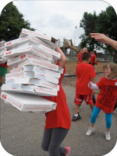 Pizza Box Relay