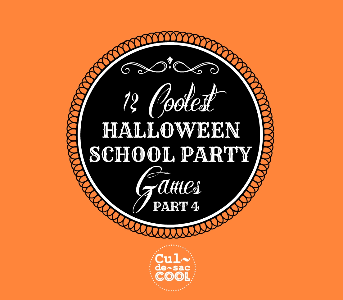 12 Coolest Halloween School party Games Part 4 Cover 2
