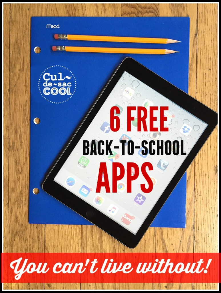 Back to School Apps Cover