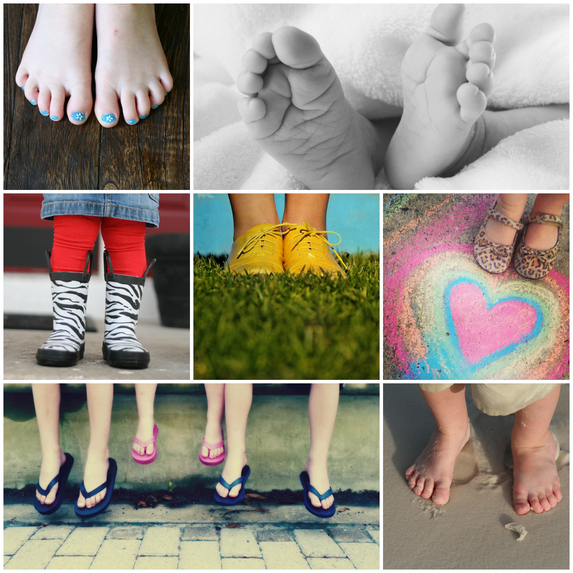 Fun Photo Ideas - feet