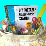 DIY Portable Homework Station