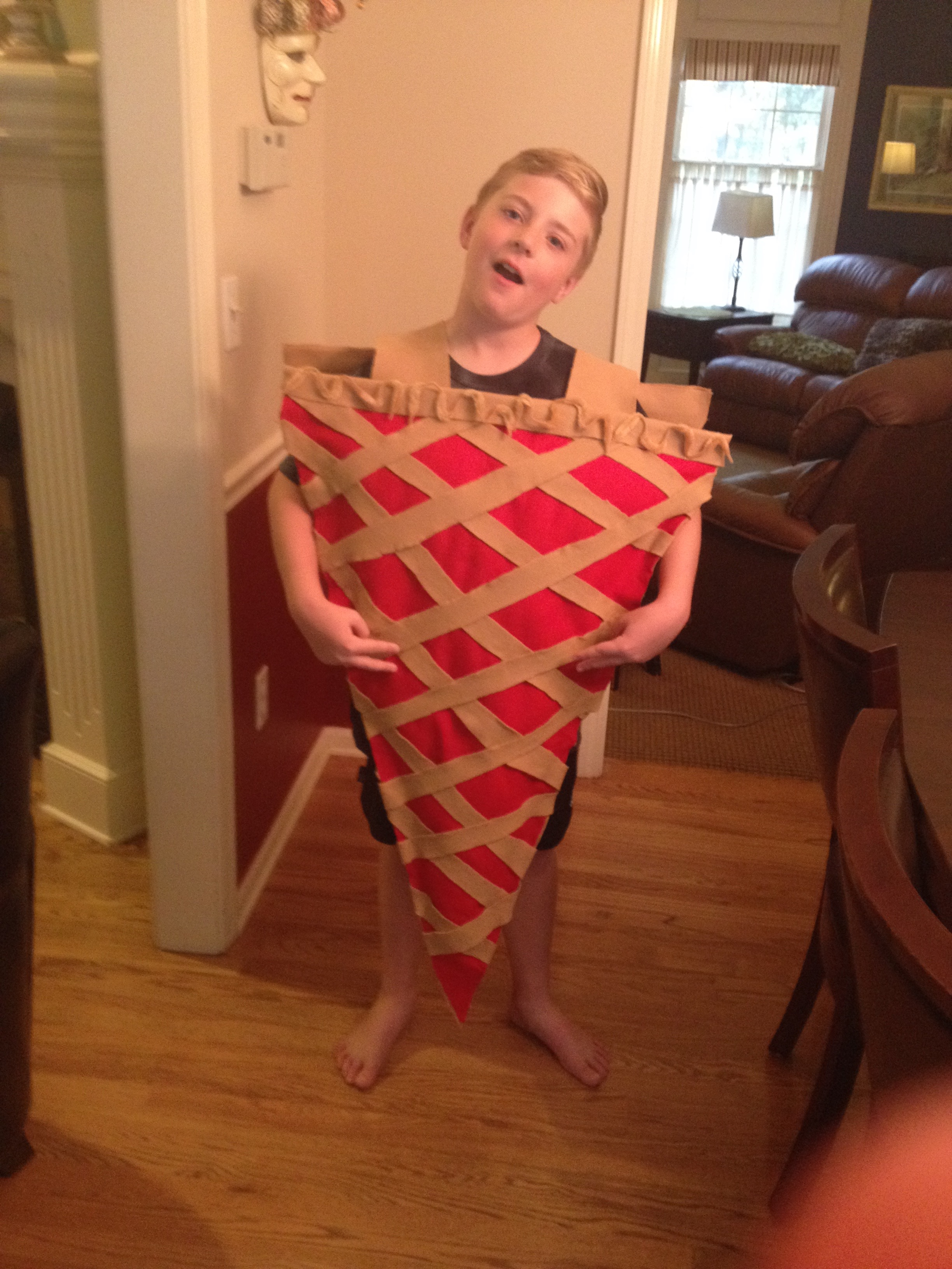 Diy Cherry Pie A La Mode Costume