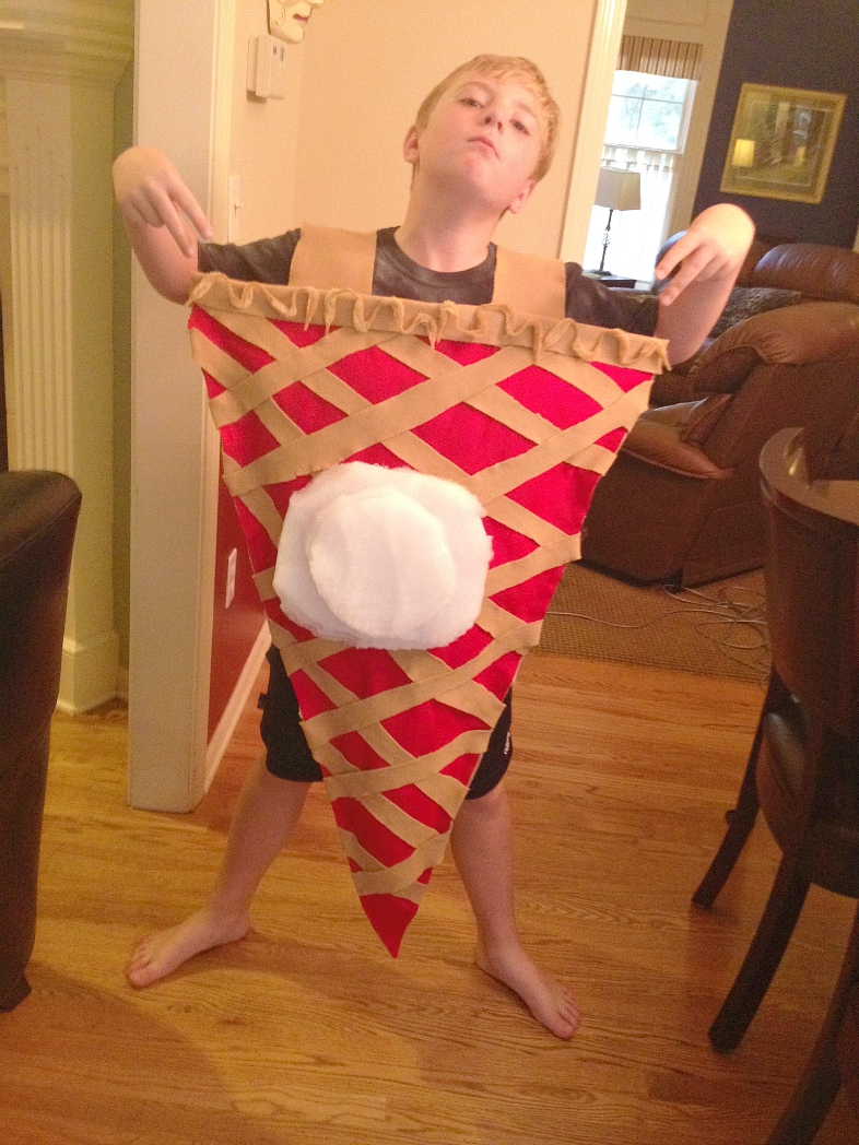 diy cherry pie costume a la mode 17