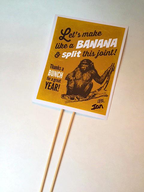 DIY Banana Split Gift 5
