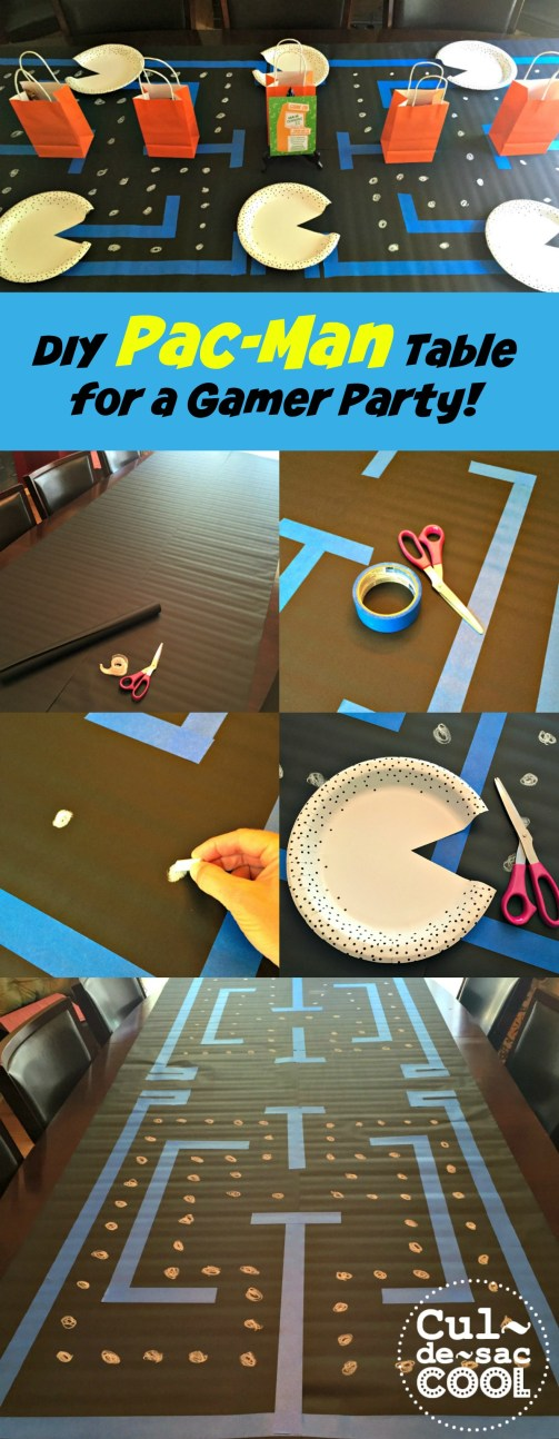 DIY Game On Birthday Party 4