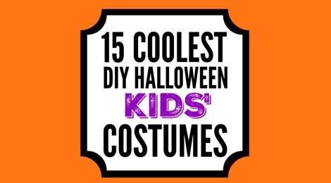 15 Coolest DIY Kids' Halloween Costumes
