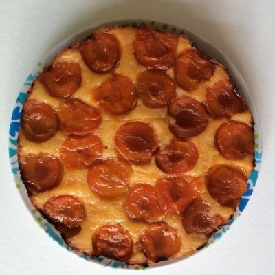 Abrikozentaart met vanille en Cointreau