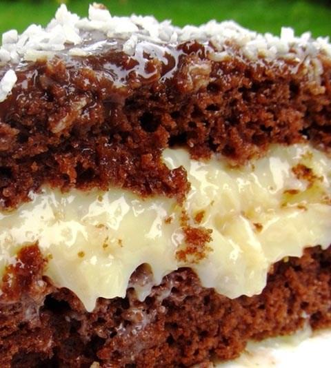 bolo de chocolate com prestigio