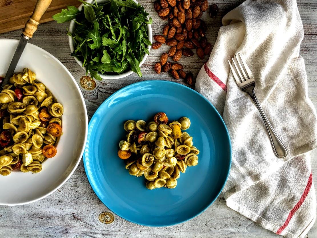 Free Cooking Class: Orecchiette with Arugula Pesto.