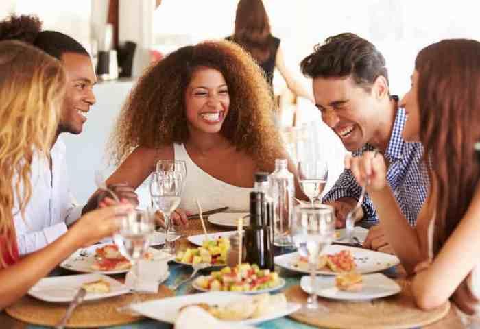 Der perfekte Restaurant-Besuch