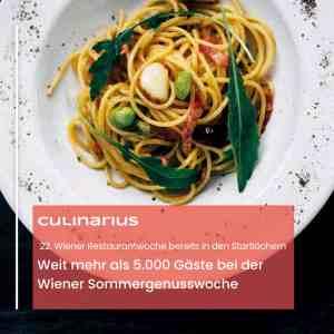 Die Wiener Sommergenusswoche zog über 5.000 Gäste in teilnehmende Restaurants