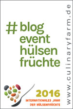Blogevent – International Year of Pulses 2016