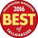 Tallahassee Magazine Best of Award 2016