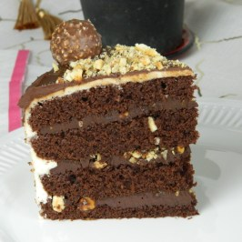 Luxurious Ferrero Rocher Cake