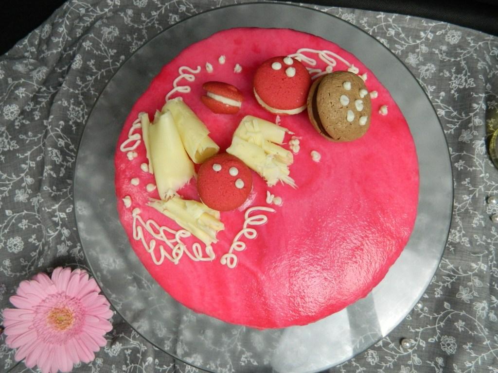 Shiny Mirror Glaze Cake