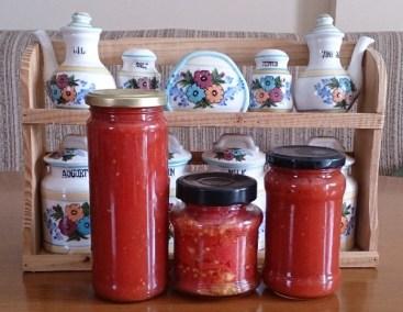 Tomates en conserva