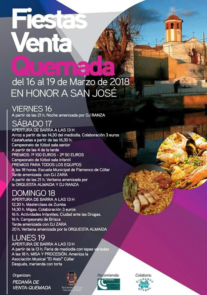Fiestas de Venta Quemada en honor a San José